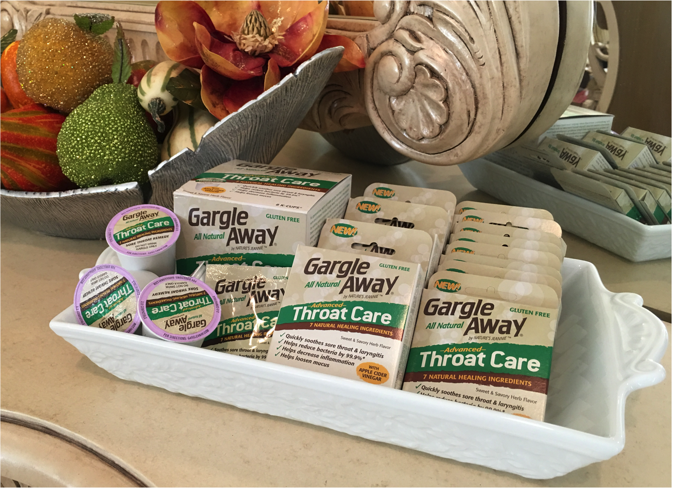 Gargle Away Sore Throat Care